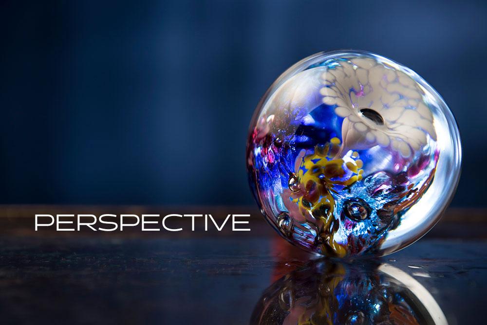 Colorful Glass Globe